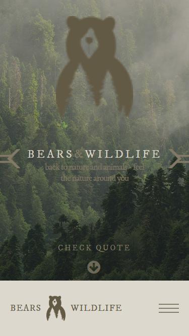 Bears watching tours screan